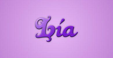 significado de lia