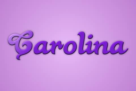 Significado de Carolina