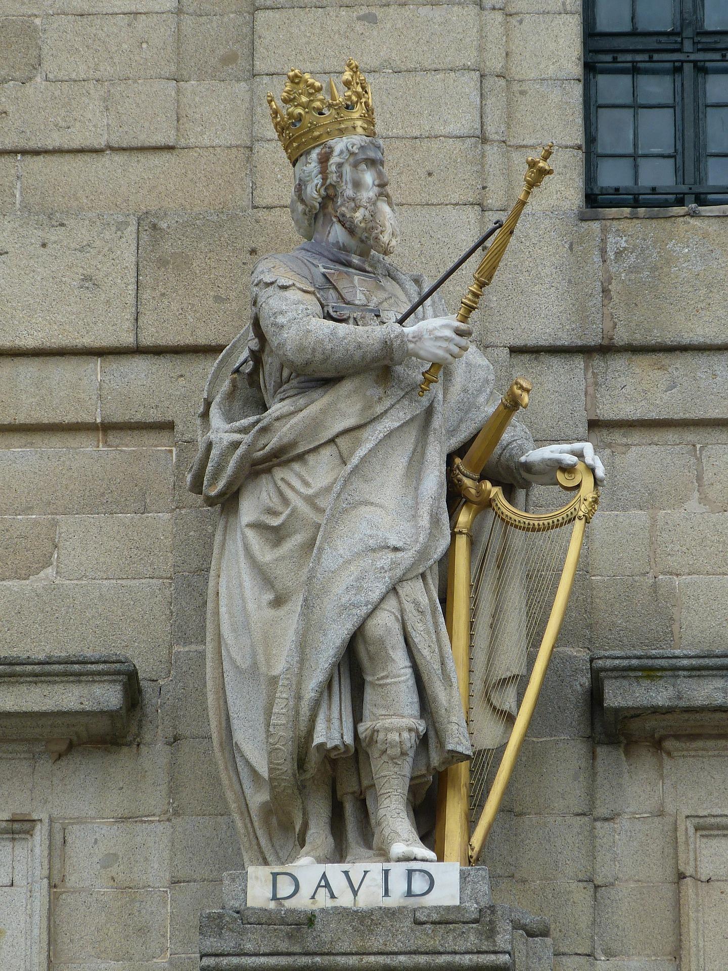 historia del Rey david, San David