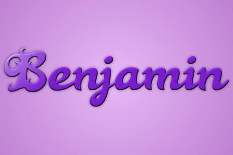 Significado de Benjamin