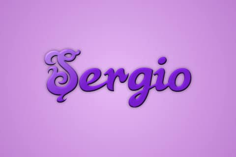 Significado de Sergio