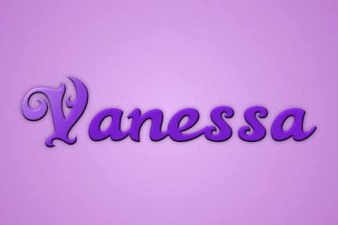 Significado De Vanessa Increíble Este Nombre
