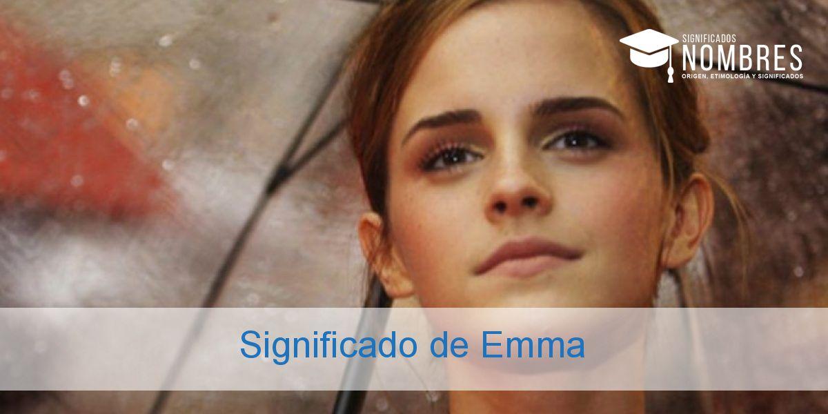 Significado de Emma