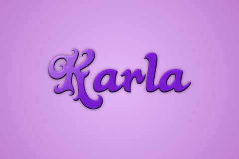 Significado de Karla