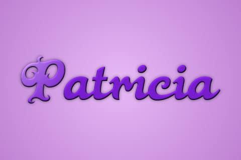 Significado de Patricia