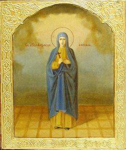 vida, milagors y día en el que se celbra santa Sandra