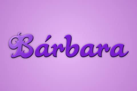 Significado de Barbara