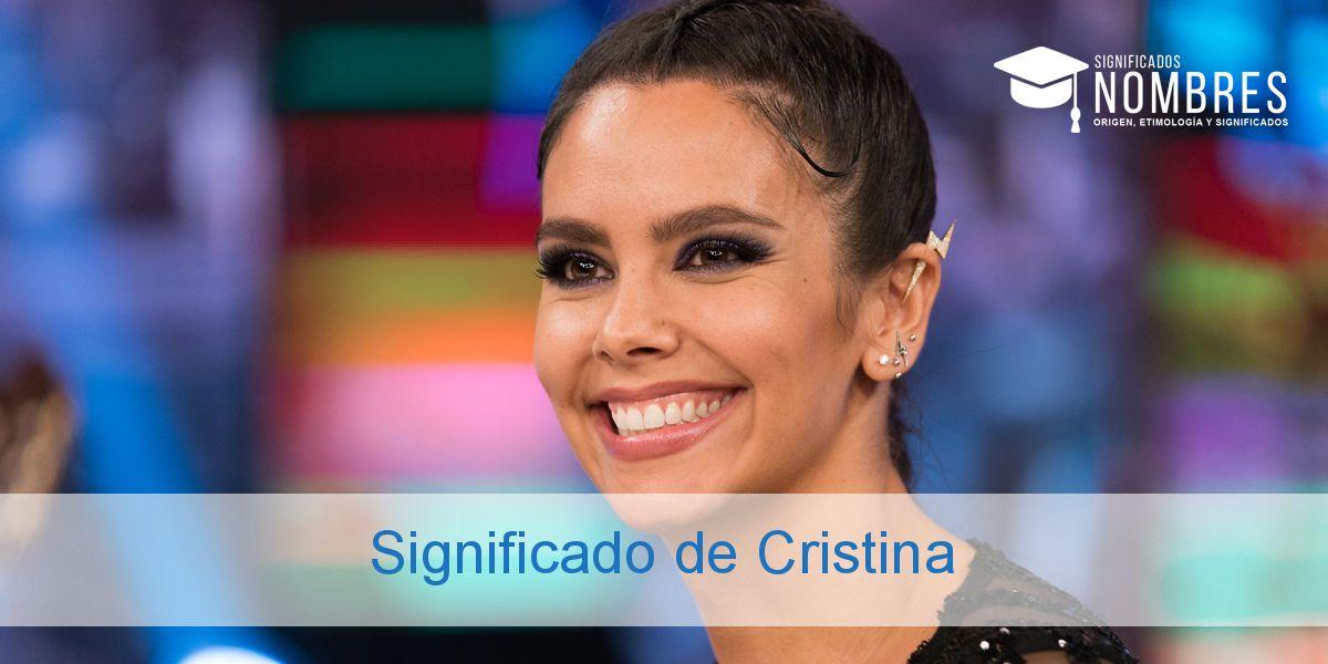 Significado de Cristina
