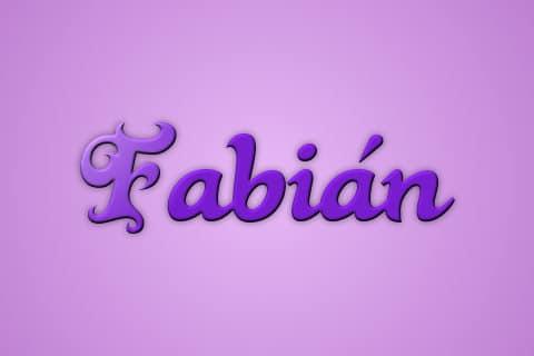 Significado de Fabian