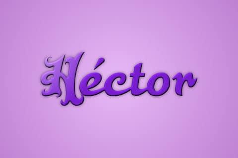 Significado de Hector