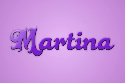 Significado de Martina