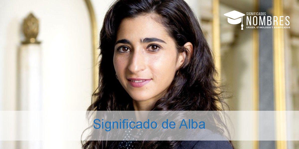 Significado de Alba