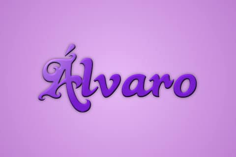Significado de Alvaro
