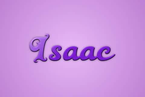 Significado de Isaac