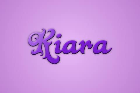 Significado de Kiara