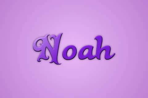 Significado de Noah