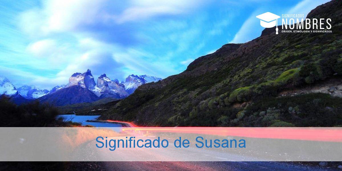 Significado de Susana