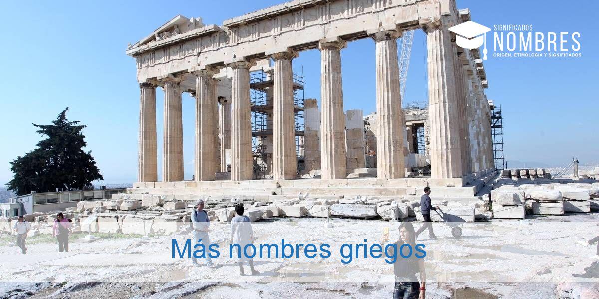 Más nombres griegos