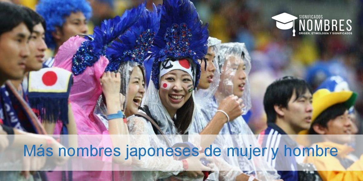 Más nombres japoneses de mujer y hombre
