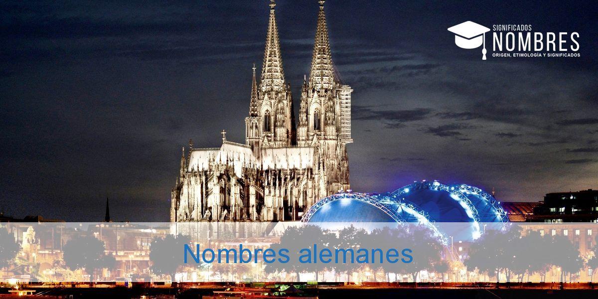 Nombres alemanes