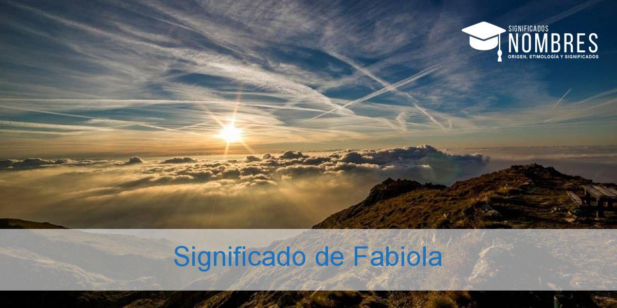 Significado de Fabiola