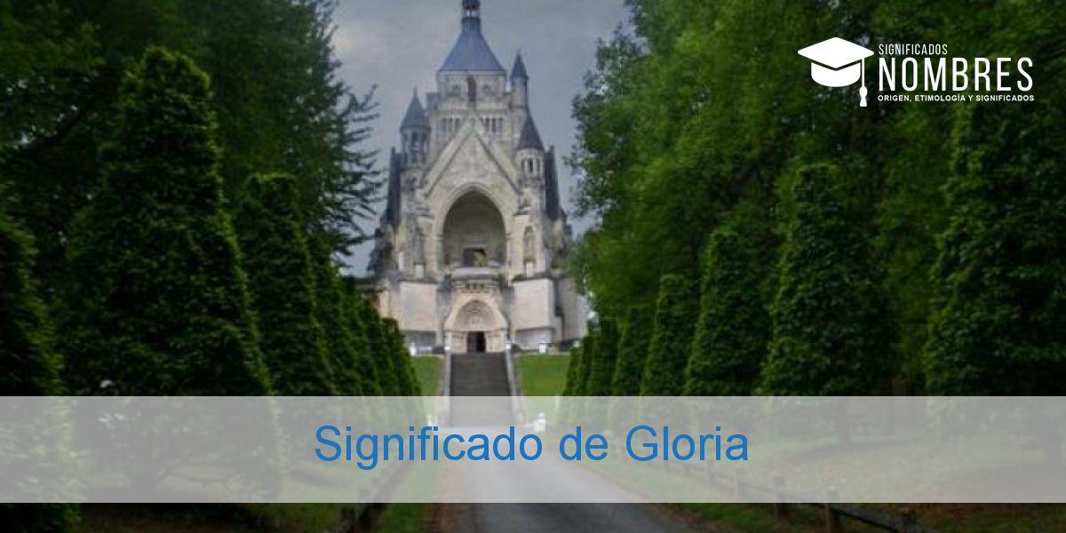 Significado de Gloria