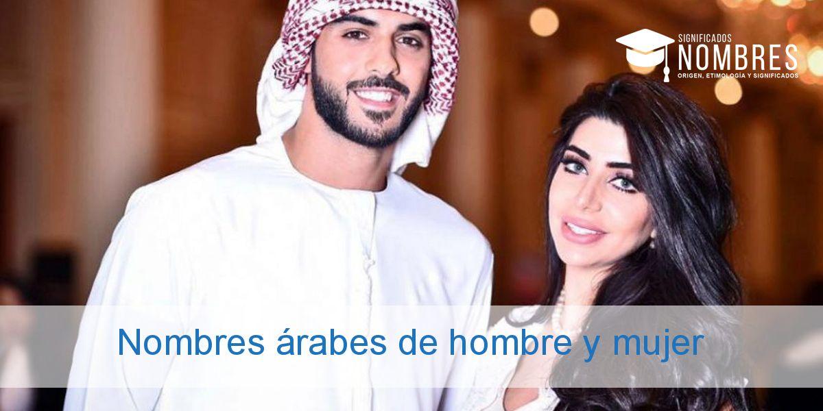 Nombres árabes de hombre y mujer